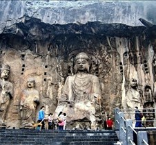 longmen grottoes,Henan longmen grottoes photos in Luoyang,Henan,China