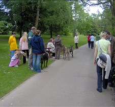 Rescued Racers Sunday Step Out Our get together and stroll around Roath Park Lake