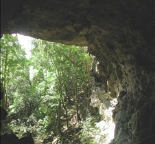 the mouth of Rio Frio cave