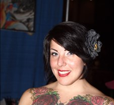 2012 NYC Tattoo Convention Day 3 - with Loana Loana makes the scene at the NYC Tattoo Convention!