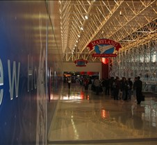 Long lines at BWI
