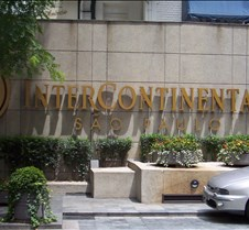 Hotel Intercontinental Sign
