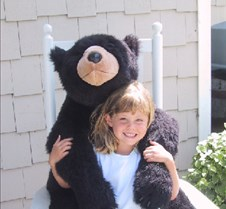 Erika with bear