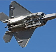 F-22 Raptor Demonstration, Weapons Bay