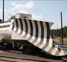 Union Pacific 900002 Light Snow Plow