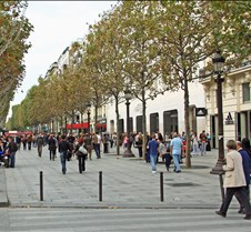 Champs des Elysees, Paris