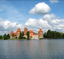 Trakai Castle & Lake, Vilnius Lithuania