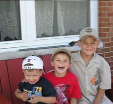 Gunnar, Charlie & Evan Olesen