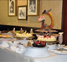 Jazz Brunch Dessert Table