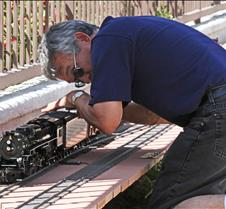 Mark Kelly & His Nickel Plate Road Loco