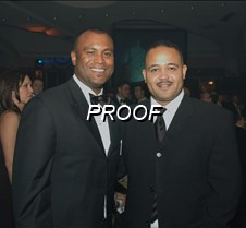 DC Boxing Commissioner, Jason Turner (l)