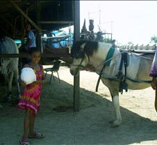 Dorie with horse