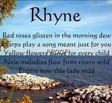 rhyne
