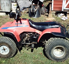 My First Album 85 /125 honda fourwheeler is for sale asking 400.00 firm