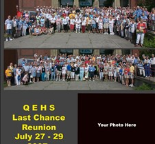 QEHS Last Chance Reunion CD - Custom cop