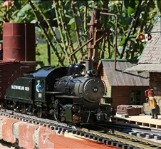 B&O 0-4-0 Live Steam Switcher #99