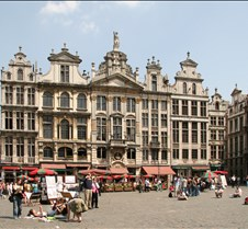 Guild houses on Brussels' Grand Place