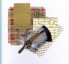Feather_on_layers(tartan-gold_mesh)