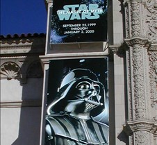 "1999-12-26 Star Wars exhibit @ San Diego Before a Raiders-Chargers game I went to Balboa Park in San Diego to check out the traveling Smithsonian exhibit entitled ""Star Wars - the Magic of Myth"" and thoroughly enjoyed seeing these amazing items and finding out what mythological concepts they were"