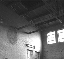 Boiler Building Inside B&W
