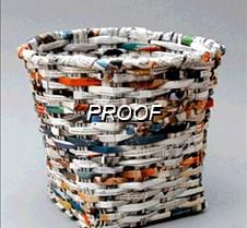 cesta de periodico