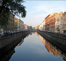 Griboyedov Canal in Saint Petersburg