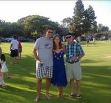 At the park for 4th of July party