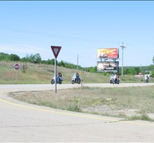 May 02, 2005 Stan's Photos trip from Stillwater to Coyle pics of motorcycles west of Stillwater on 51, Langston University from hilltop 1 mile north on Coyle Road off of 33 highway, new road construction between hill west of Coyle and Coyle Road north of the Cimarron river, the two bridges, Coyle downtown, and s