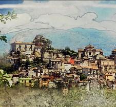 hilltop village sicily