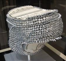 underwear made of silver crayons