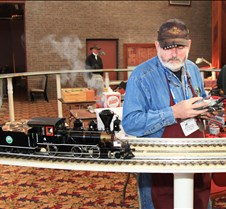 Mitch Mitchell With His 2-6-0 Mogul