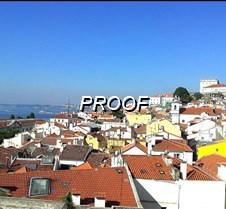Tejados en Lisboa