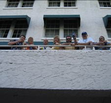 WAPHC members on the La Concha balcony