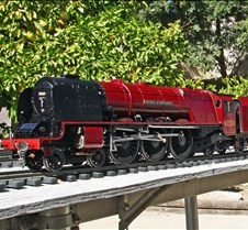 Rob Meadows' Duchess of Buccleuch Loco