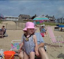 Caitlin on Beach