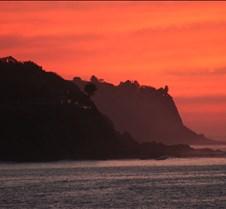 Palos Verdes Peninsula at Sunset