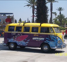 Knotts Berry Farm Soak City Bus