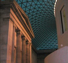 interior main hall of British Museum
