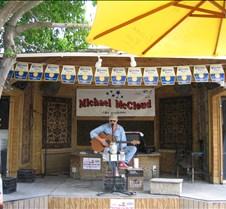 Michael McCloud at Schooner Wharf