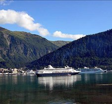 Cruise Ships in Gastineau Channel