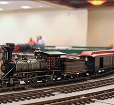 Accucraft's 4-4-0 Live Steam Loco