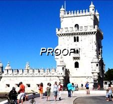 Torre frente al mar lisboa