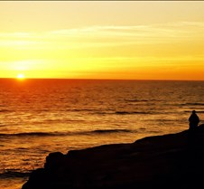 Sunset at Point Loma