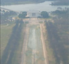 Empty Reflecting Pool from Above