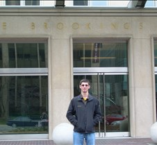 Josh at the Brookings Institute