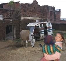 India - village scene