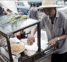 Food Cart In Saigon