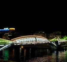 Pushkinsky Pedestrian Bridge, Moscow