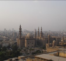 Cairo from lookout @ Citadel