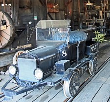 Sierra Railway Rail Car #8